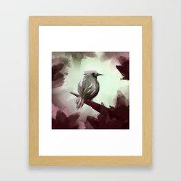 For the ones bird Framed Art Print