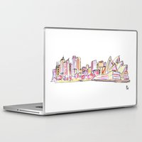 sydney Laptop & iPad Skins featuring Sydney by Ursula Rodgers