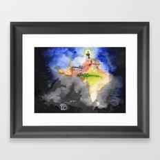 Guru Nanak Dev Ji Framed Art Print