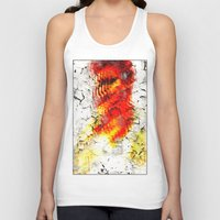 grunge Tank Tops featuring Grunge by Eleigh Koonce