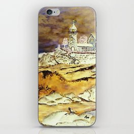 Brentons Lighthouse Ipod Cover by Ave Hurley iPhone Skin