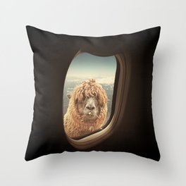 QUÈ PASA? NEVER STOP EXPLORING XXI Throw Pillow