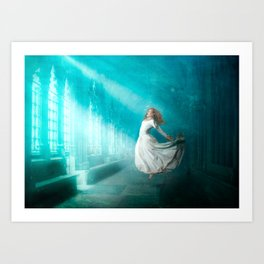 Cathedrals of the Mind Art Print
