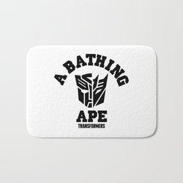 Bape a bathing ape transformer Bath Mat