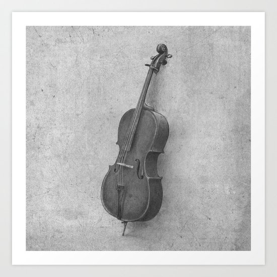 The Cello  Art Print