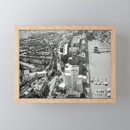 Düsseldorf Framed Mini Art Print