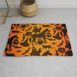 Halloween Spook Unicorn Rug