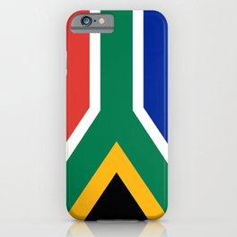 South African flag of South Africa iPhone Case