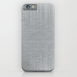 Pale Blue Minimal Hatching Home Goods Pattern iPhone Case