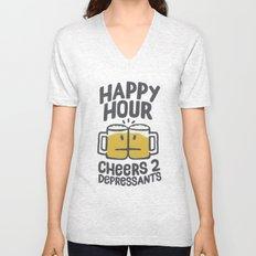 Happy Hour Unisex V-Neck