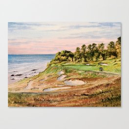Whistling Straits Golf Course 17th hole Canvas Print