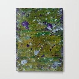 Color Splat Metal Print