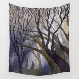 Light in the Shadows Wall Tapestry