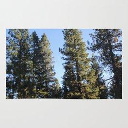 Lake Tahoe Redwoods Rug