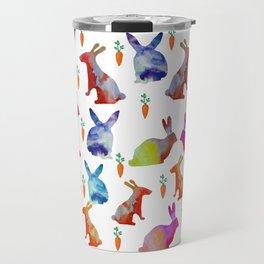 Rabbits Joy Travel Mug
