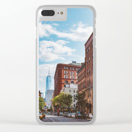 Downtown New York II Clear iPhone Case