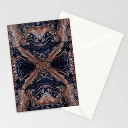 Golden Magma Stationery Cards
