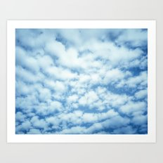 Swiftly Across the Sky Art Print