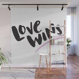 Love Wins Wall Mural