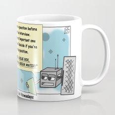 Applying for a Job Nowadays Mug