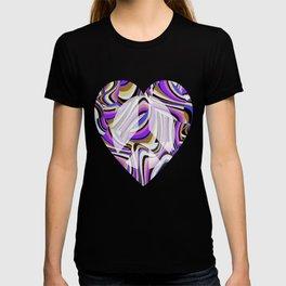 Retro Renewal - Purple Waves T-shirt