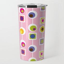 Mod Love Pink Travel Mug