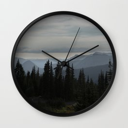 Forest Alpine Wall Clock