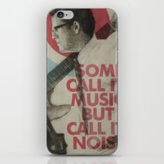 Some call it music but I call it noise iPhone Skin