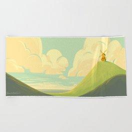 The Windmill Beach Towel