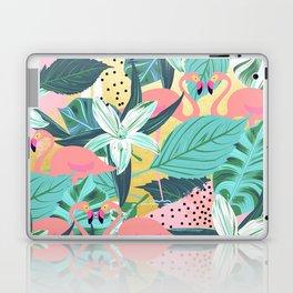 Flamingo Tropical #society6 #decor #buyart Laptop & iPad Skin