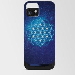 Sacred Geometry iPhone Card Case