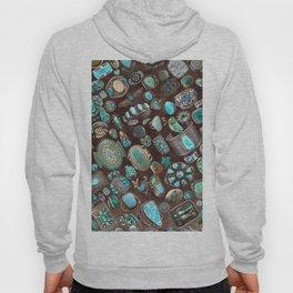 Vintage Navajo Turquoise stones Hoody