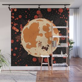Man on the mars Wall Mural
