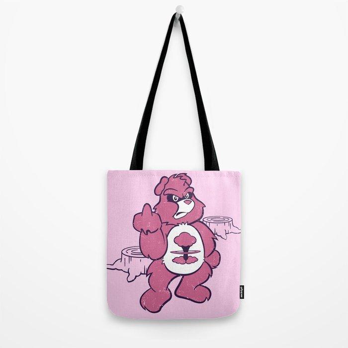 Don't Care Bear  Tote Bag