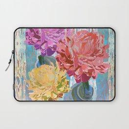 Trio of Peonies - Summer Pastels Laptop Sleeve
