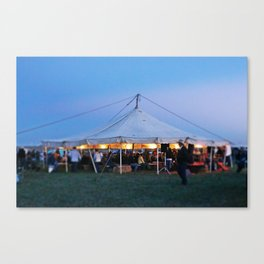 The Story Tent Canvas Print