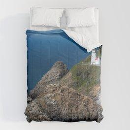 Pictures USA Heceta Head, Oregon, Pacific Ocean Cr Comforters