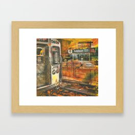 Addison Stop Framed Art Print