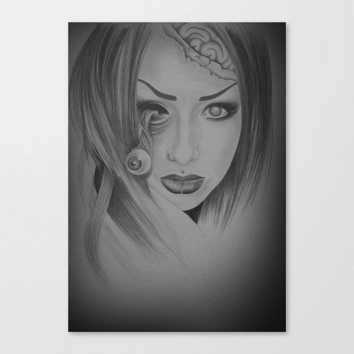 Devines zombies #5 Canvas Print