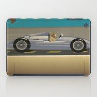 scuba iPad Cases featuring Scuba Driver by Chris Cooch