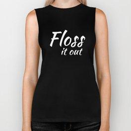 Floss Like A Boss Dance Flossing Dance Shirt Gift Idea Floss it out Biker Tank