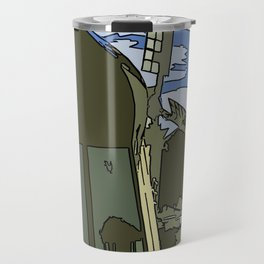 Windmill Comicked Travel Mug
