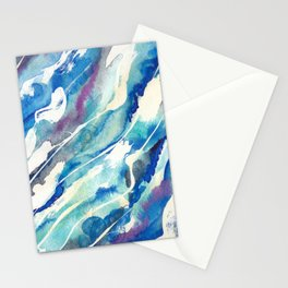Koule Dlo (Water Flow in Haitian Creole) Stationery Cards