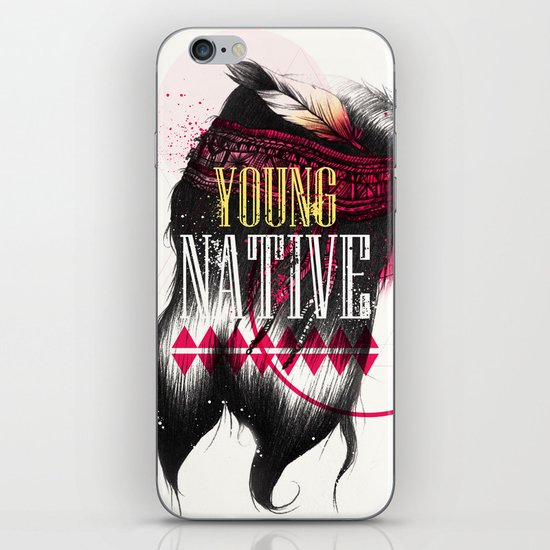 Young Native iPhone & iPod Skin