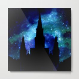 Religious Space : Galaxy Cathedral Metal Print