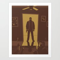 breaking bad Art Prints featuring Breaking Bad by Brandon Riesgo