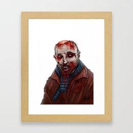 Karl Pilkington Framed Art Print