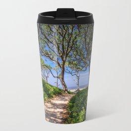 Beach Path Travel Mug