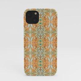 Humming Bird Orange iPhone Case