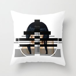 girl craze Throw Pillow